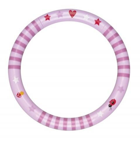 Die Spiegelburg Ringrassel BabyGlück, rosa Spielzeug