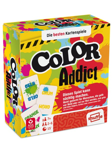 ASS Spielkartenfabrik Color Addict Spielzeug