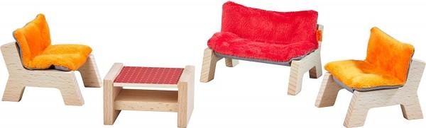 Haba Little Friends-Möbel Wohnzimmer Spielzeug