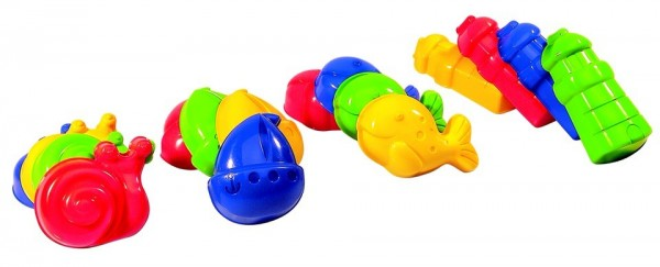 Spielstabil Sandspielzeug Ocean-Sandform Spielzeug