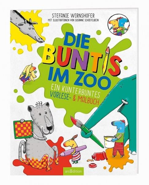 ars Edition Die Buntis im Zoo Spielzeug