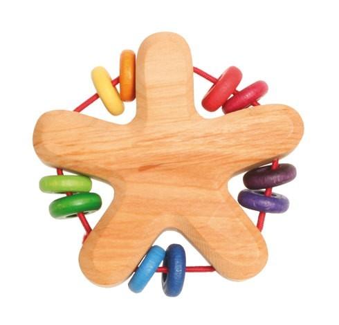 Grimms Rassel Stern Spielzeug