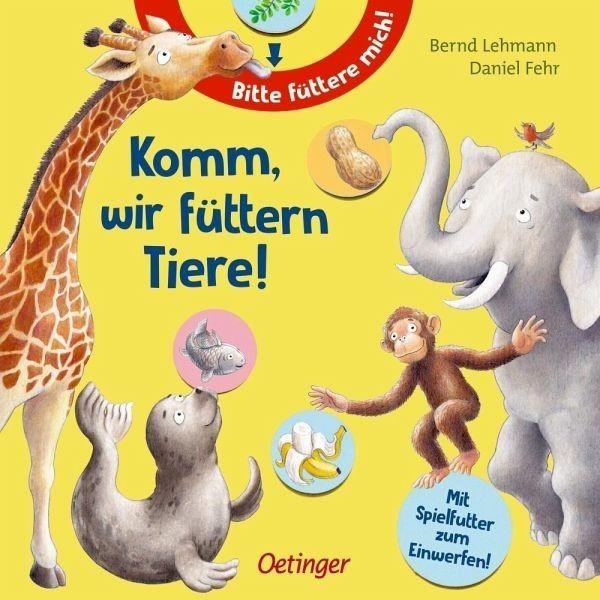 Oetinger Verlag Komm, wir füttern Tiere Spielzeug