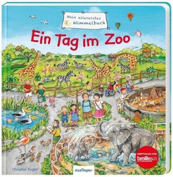 Thienemann-Esslinger Verlag Schumann., Mein allerstes Wimmelbuch: Ein Tag im Zoo Spielzeug