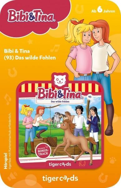 Tigermedia tigercard - Bibi & Tina - Folge 93: Das wilde Fohlen Spielzeug