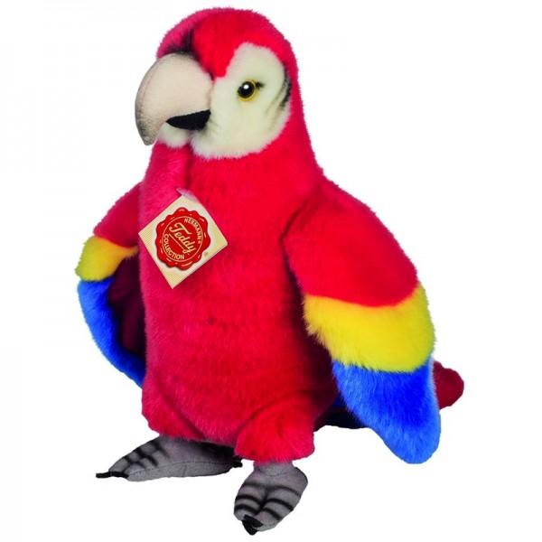 Teddy Hermann Papagei stehend 24 cm Spielzeug