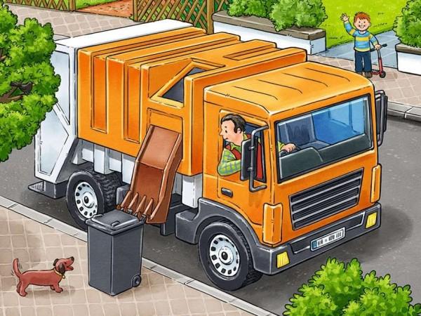 Ravensburger Meine liebsten Fahrzeuge 12 Teile Spielzeug