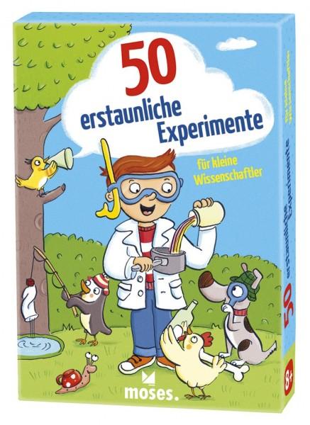 Moses 50 erstaunliche Experimente für kleine Wissenschaftler Spielzeug