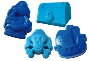 Spielstabil Sandspielzeug Sandformen 2-Farben sortiert Spielzeug