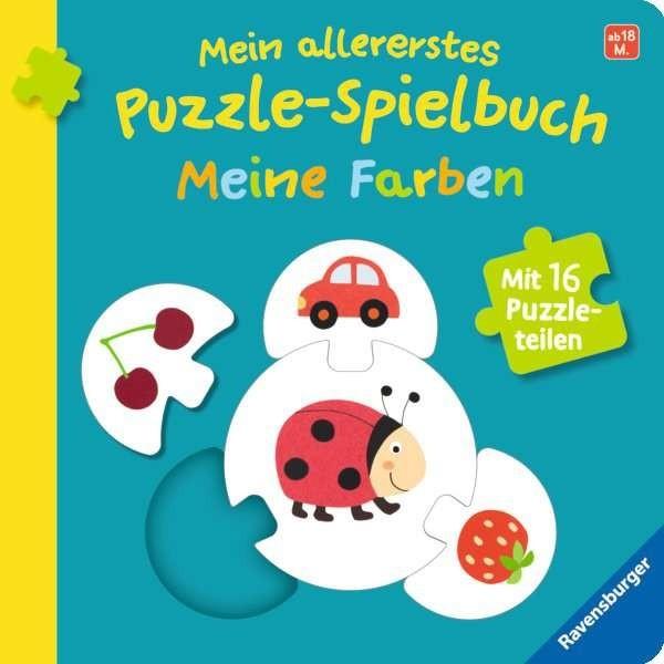 Ravensburger Buch Mein allererstes Puzzle-Spielbuch: Meine Farben Spielzeug