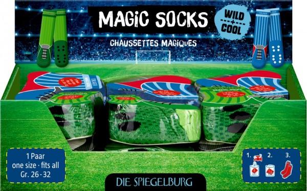 Die Spiegelburg Magic Socks Fußball, one size Wild+Cool Spielzeug