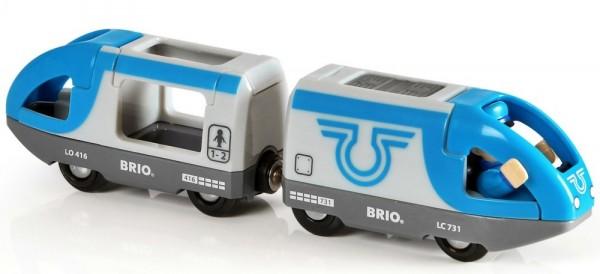 Brio Blauer Reisezug (Batteriebetr Spielzeug