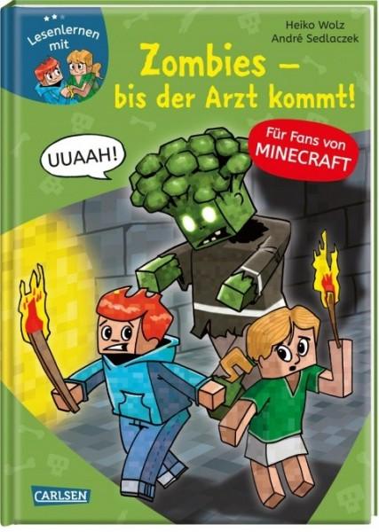 CARLSEN Minecraft Band 1 Zombies bis der Arzt kommt Spielzeug