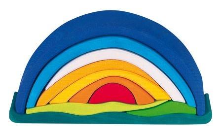 NIC Sonnenaufgang, 10 Teile, blau Spielzeug