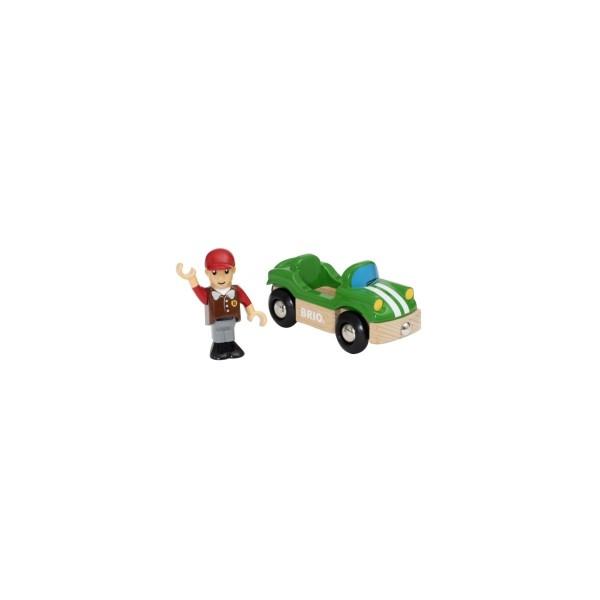 Brio Sportwagen mit Fahrer Spielzeug