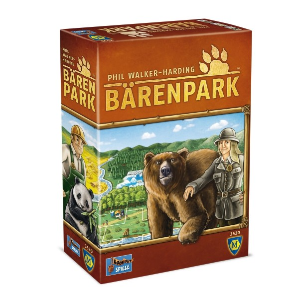 ASS Spielkartenfabrik Bärenpark Wer baut den schönsten Bärenpark? Spielzeug