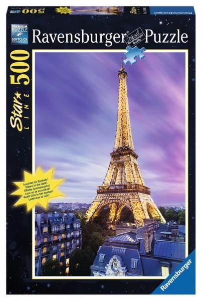 Ravensburger Puzzle Funkelnder Eiffelturm 500 Teile Spielzeug