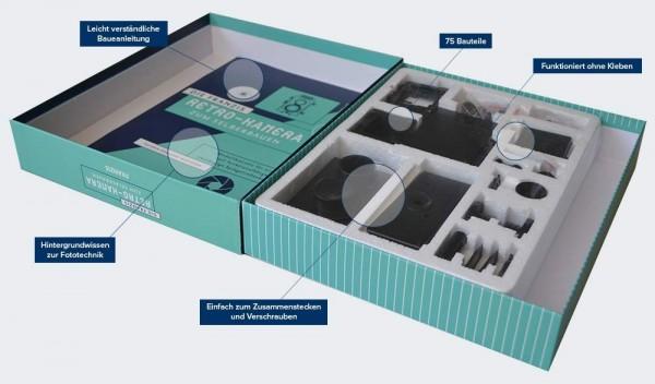 Invento Franzis Retro Kamera Bausatz Spielzeug