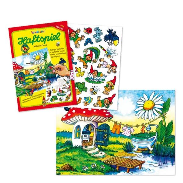 Mauder Lutz Verlag Haftspiel groß, Wichtel Spielzeug