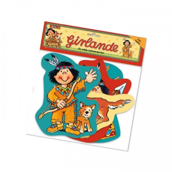 Lutz Mauder Verlag Girlande Indianer Yanuk, 9 tlg. Spielzeug