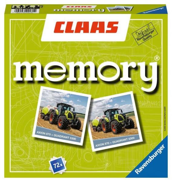 Ravensburger CLAAS memory®, das weltbekannte Gedächtnisspiel mit beeindruckenden Landmaschinen! Spielzeug