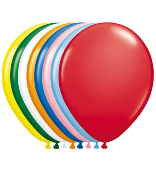 Aurich Ballons metallic 25 Stück Spielzeug