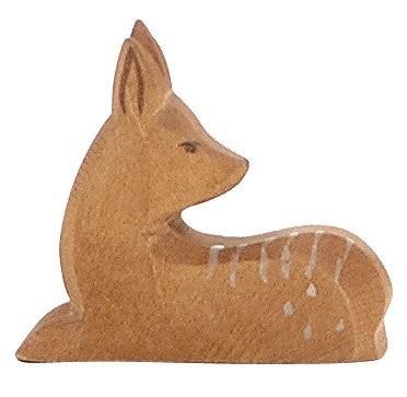 Ostheimer Figur Hirschkalb liegend Spielzeug