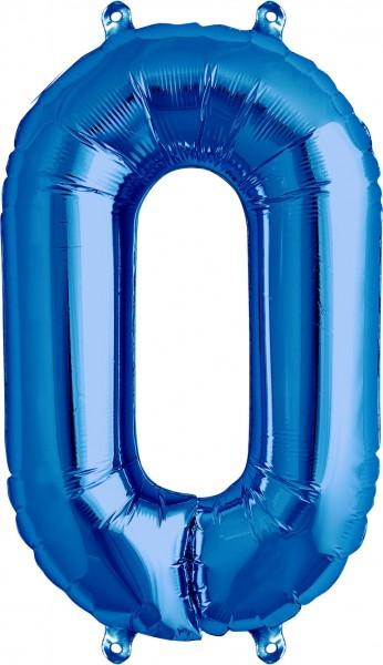 Aurich Folienballonn 0 Blau Spielzeug
