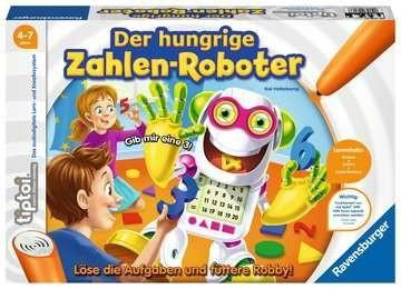 Ravensburger Spiele Der hungrige Zahlen-Roboter Spielzeug