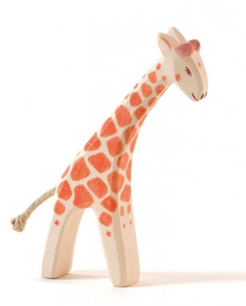 Ostheimer Figur Giraffe klein gebeugt Spielzeug