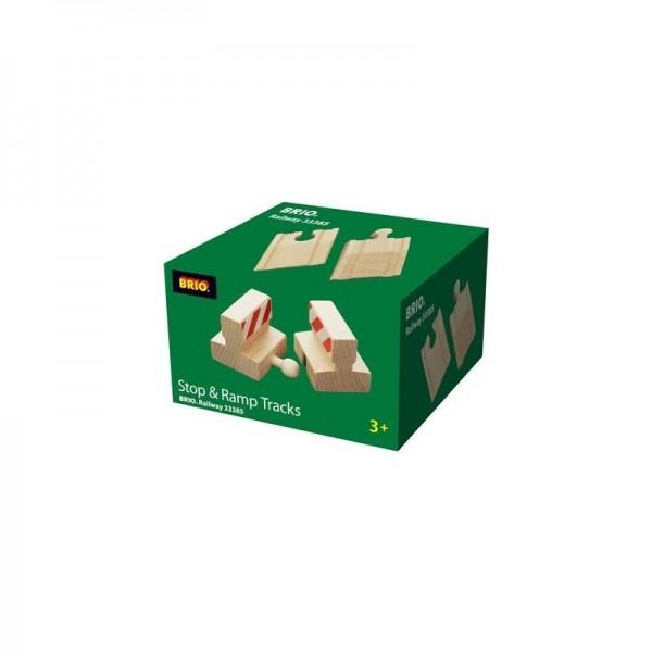 Brio Rampen & Prell-Bock Pack Spielzeug