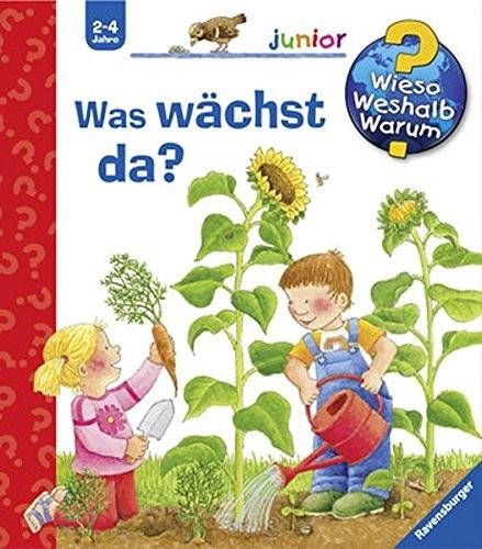 Ravensburger Buchverlag WWWjun22: Was wächst da? Spielzeug