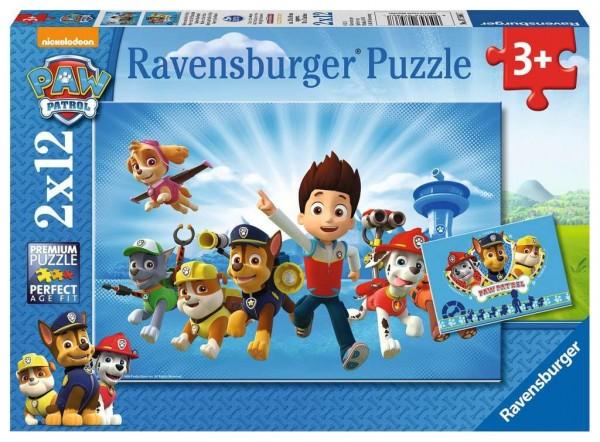 Ravensburger Ryder u. die Paw patro. 2x12 Spielzeug