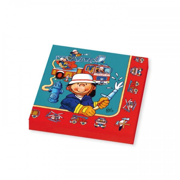 Lutz Mauder Verlag Servietten Benny Brandmeister Spielzeug
