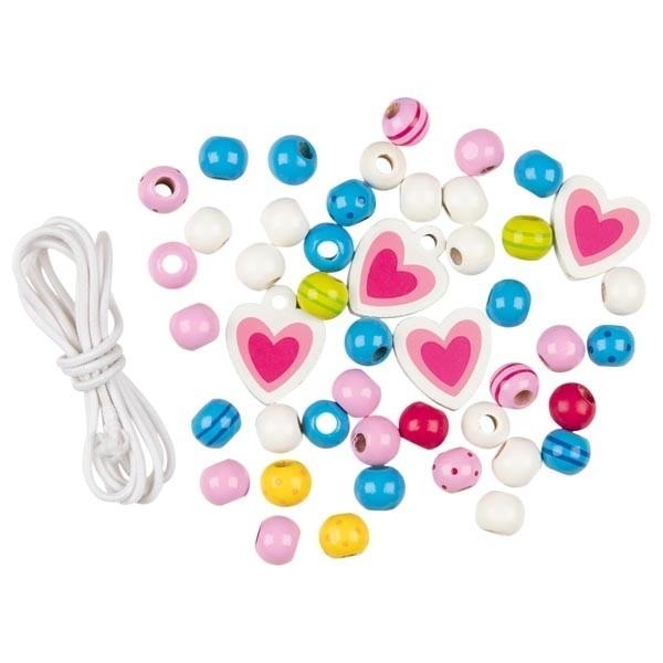 Goki Perlen mit Bändern Spielzeug