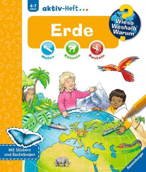 Ravensburger WWW aktiv Heft Erde Spielzeug