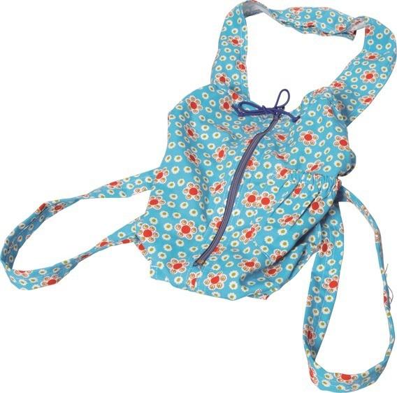 NIC Puppentragesack, blau Spielzeug