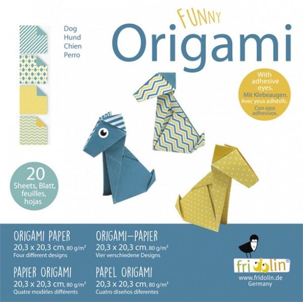 Fridolin Funny Origami Hunde 20x20 Hunde Spielzeug