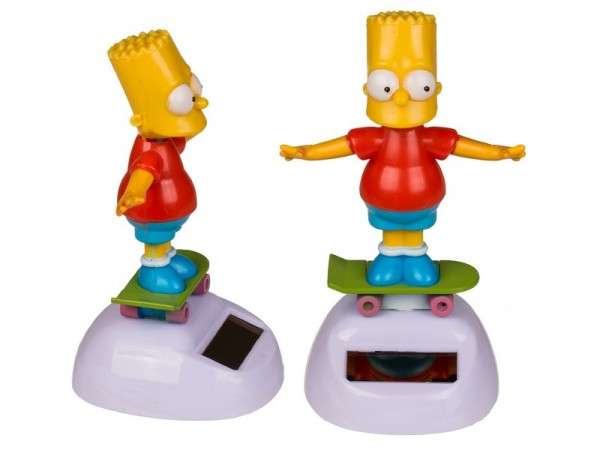 Out of the Blue Bewegliche Figur Bart Simpson Spielzeug