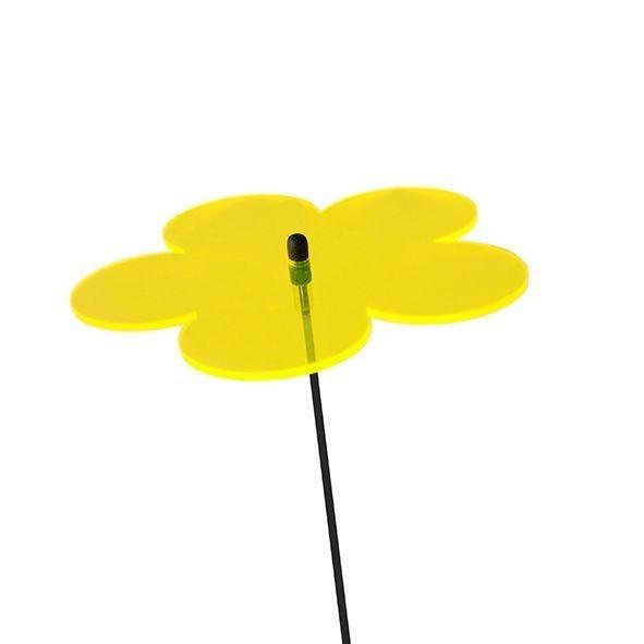Elliot GmbH Lichtzauber Blume 12 cm gelb Spielzeug