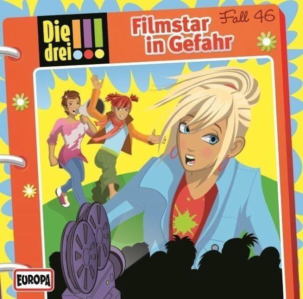 BUSCH CD Die drei !!! Folge 46: Filmstar in Gefahr Audio Spielzeug
