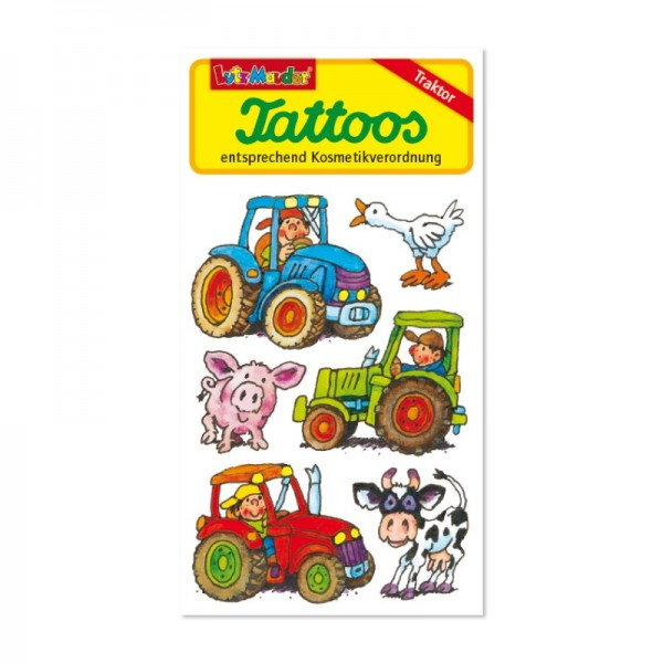 Lutz Mauder Verlag Tattoo Traktor Spielzeug