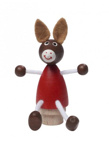 NIC Geburtstags-Stecker Esel Spielzeug