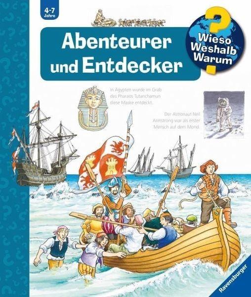 Ravensburger Buch WWW70 Abenteurer und Entdecken Spielzeug