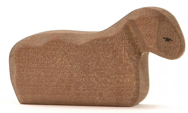Ostheimer Figur Lamm liegend braun Spielzeug
