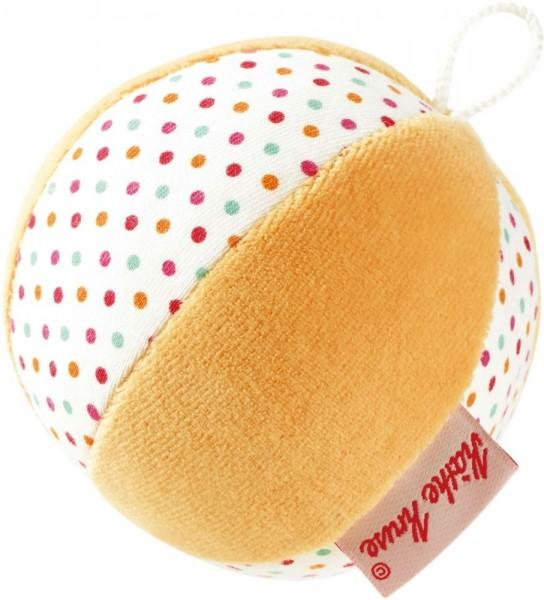 Käthe Kruse Geräuschball Tupfen/apricot Spielzeug