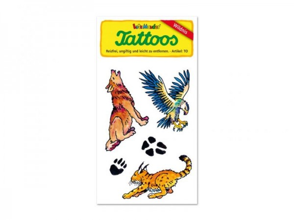 Mauder Lutz Verlag Old School Tattoo Wild Life Spielzeug