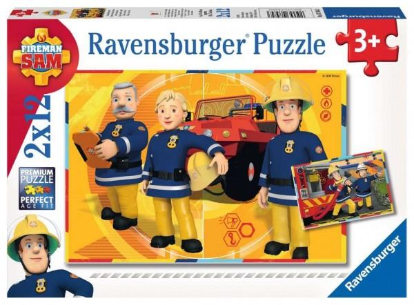 Ravensburger Sam im Einsatz 2 X 12 Teile Spielzeug