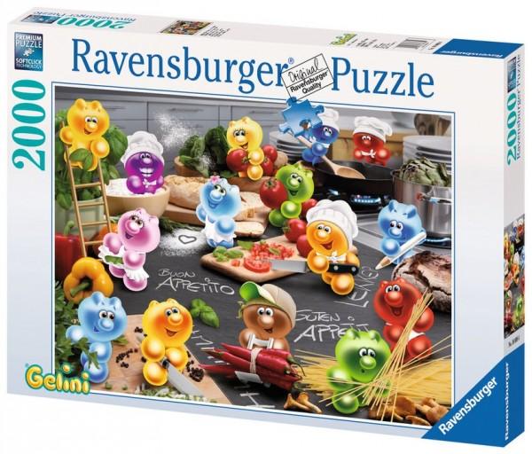 Ravensburger GEL:Küche,Kochen,Leidenschaft 2000 Teile Spielzeug
