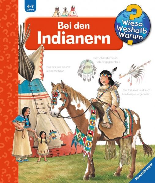 Ravensburger Buch WWW18 Bei den Indianern Spielzeug